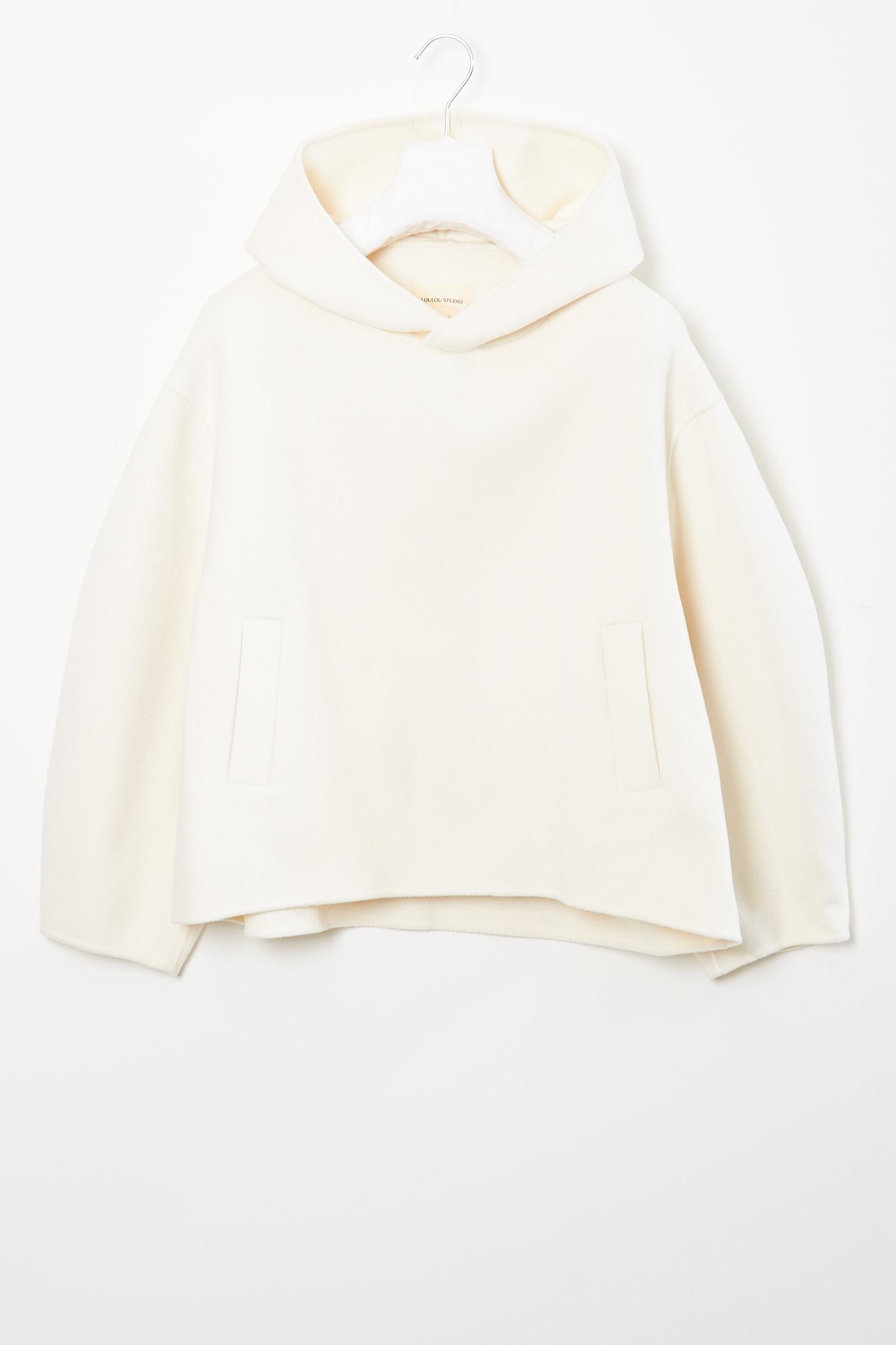 loulou studio - Pollos wool cashmere hoodie