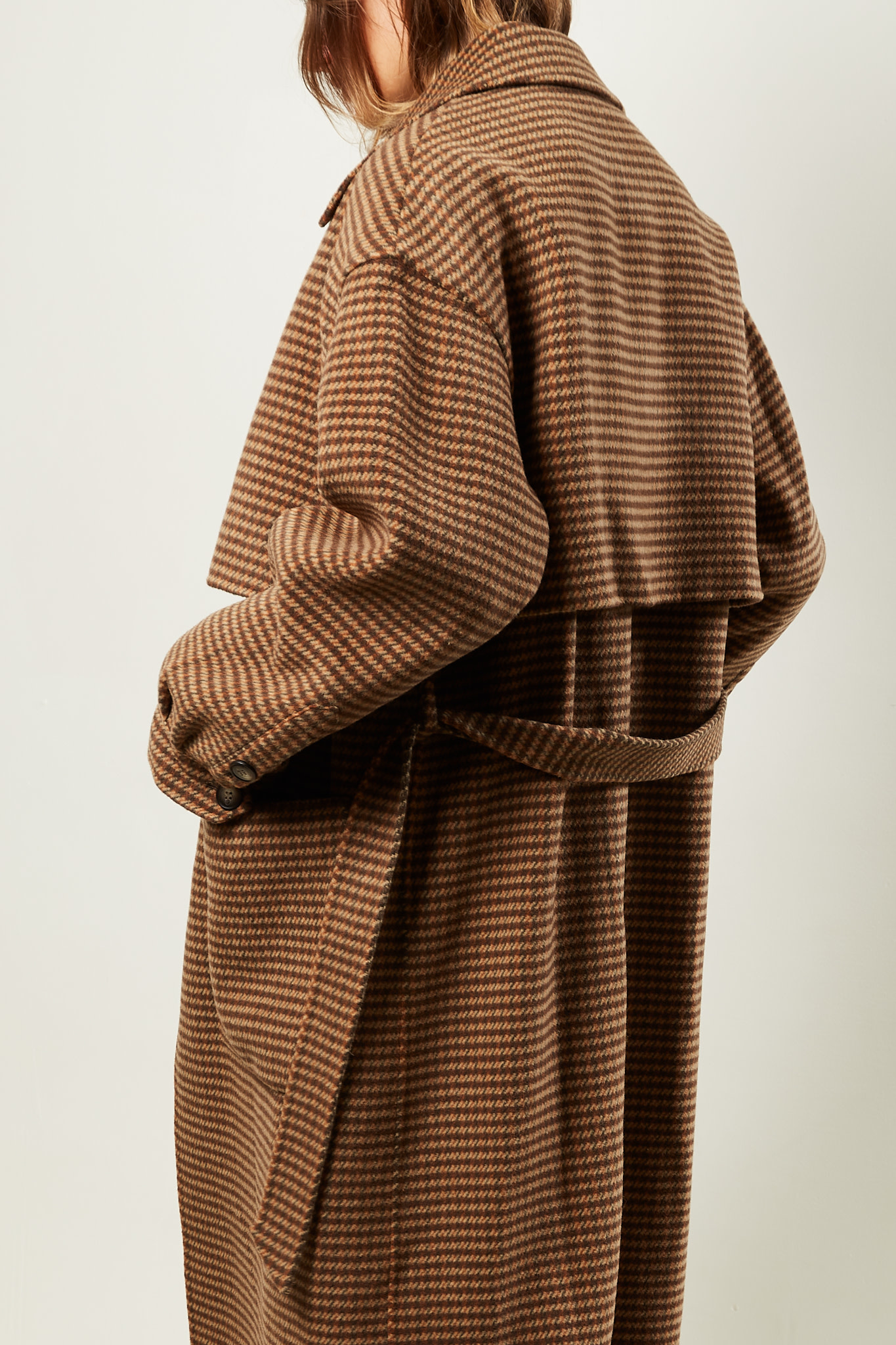 Nanushka - Ara double wool trench