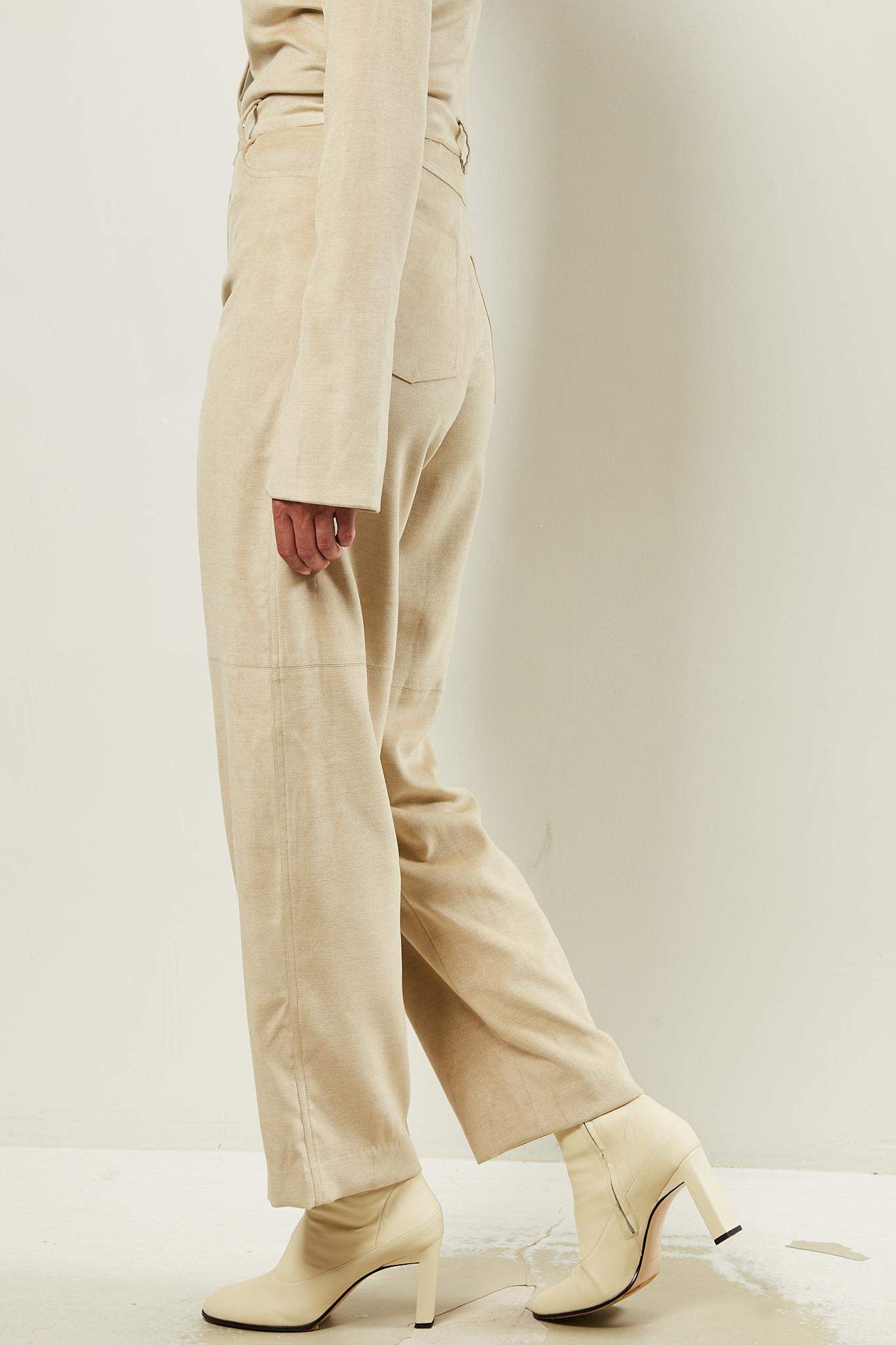 Nanushka - Radha stretch velvet pants