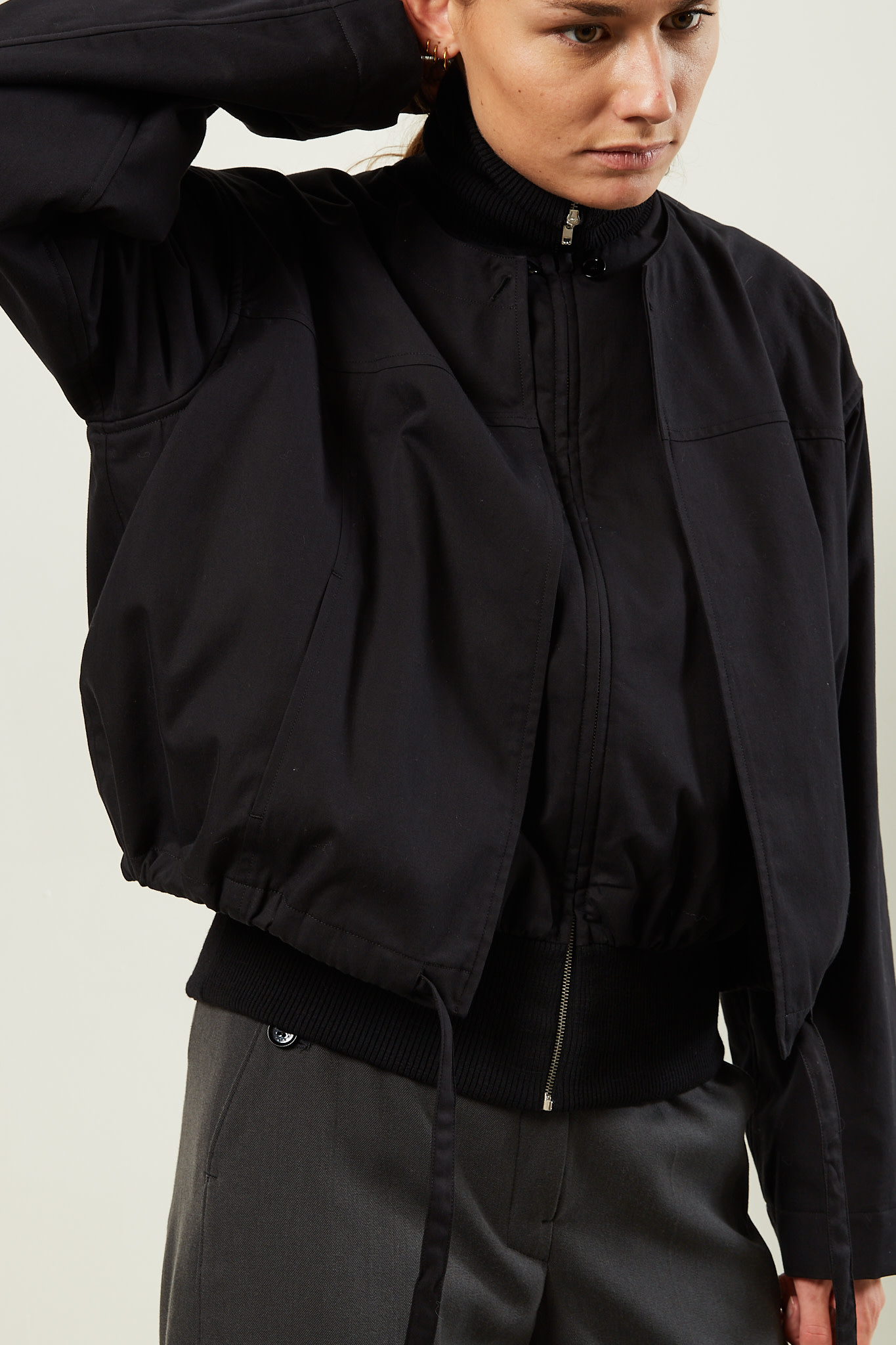 Lemaire Double blouson with ribs