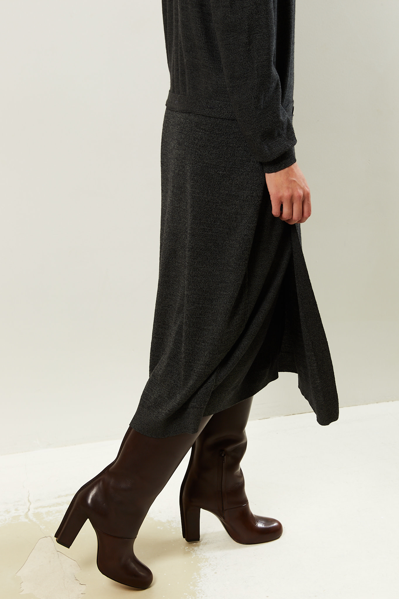 Lemaire Double layer skirt dress