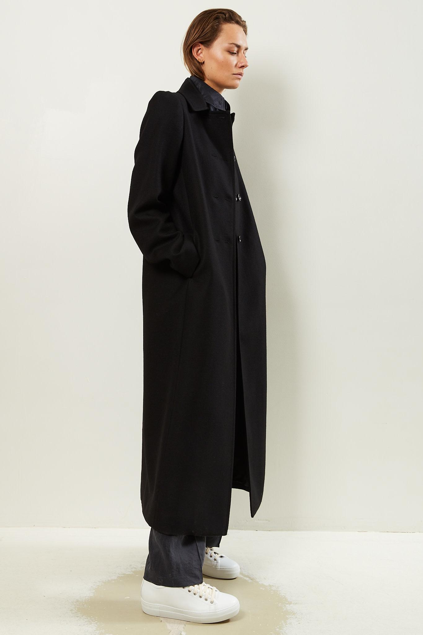 Lemaire Long DB coat