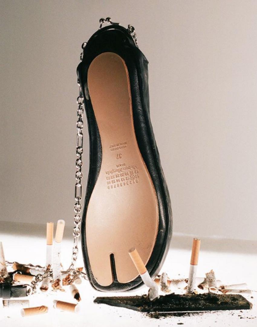 <strong>Maison Margiela</strong>Maison Margiela Celebrating 30 years of the Tabi boot.
