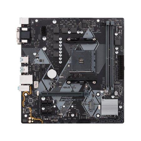 Asus MB  B450M-K / AM4 / DVI / VGA / 2 X DDR4 / mATX