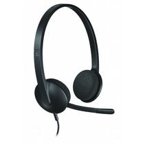 H340 Headset Hoofdband Zwart