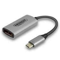 AB7873 video kabel adapter 0,096 m USB Type-C DisplayPort Zwart, Grijs