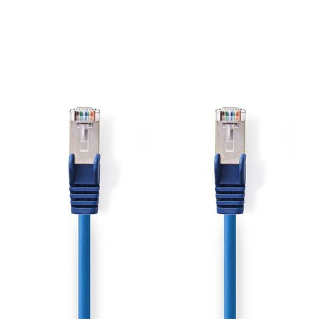 CAT5e SF/UTP-Netwerkkabel/RJ45 2m Blauw