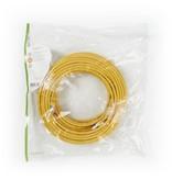 CAT6 S/FTP-netwerkkabel/RJ45 5m Geel