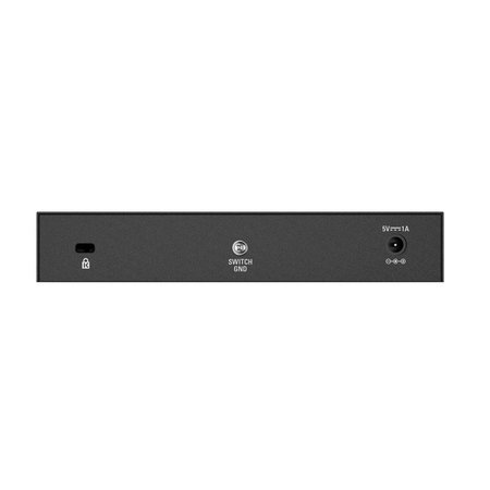 D-Link DGS-108 8-Port 10/100/1000 Desktop Switch Black