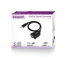 EM1016 seriële kabel Zwart 0,6 m USB A RS-232