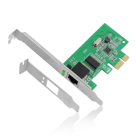 10/100/1000 Mbps PCI-e Networking adapter