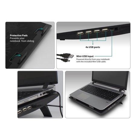 Laptop standaard incl. HUB