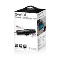 EW1317 oplader voor mobiele apparatuur Binnen Zwart
