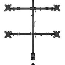 """EW1514 flat panel bureau steun 81,3 cm (32"""") Klem/doorvoer Zwart"""