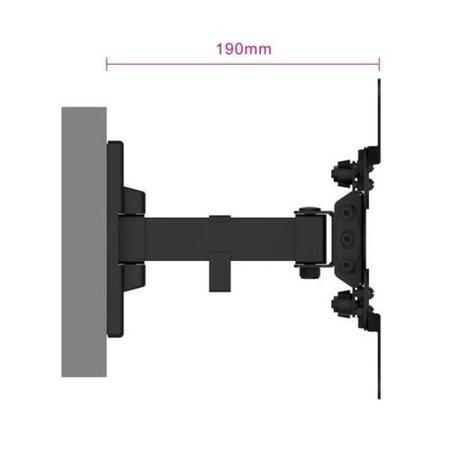 "Easy Turn TV wall mount M, 2 pivot, 13"" - 42"""