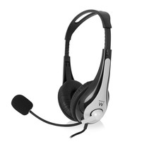 EW3562 hoofdtelefoon Headset Hoofdband Zwart, Zilver