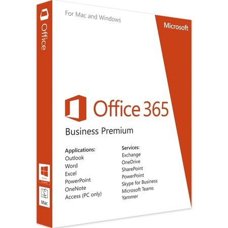 Microsoft Office 365 Business Premium 1 licentie(s) 1 jaar E