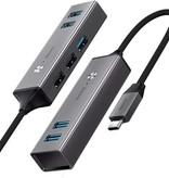 Baseus Baseus 5 Poorten USB C