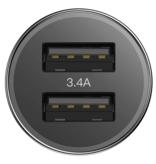 Baseus Baseus Iphone Autolader + Kabel