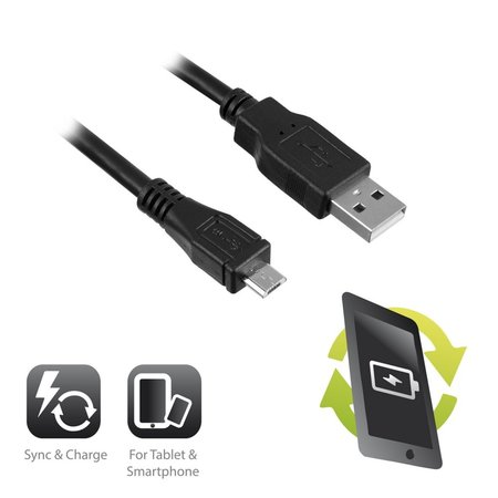 USB 2.0 to Micro USB 1M