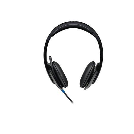 Logitech H540 Headset Hoofdband Zwart