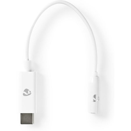 USB-C Adapter | USB-C Male - 3,5 mm Female | 0,15 m | Wit