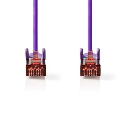 CAT6 S/FTP-netwerkkabel/RJ45 2m Paars