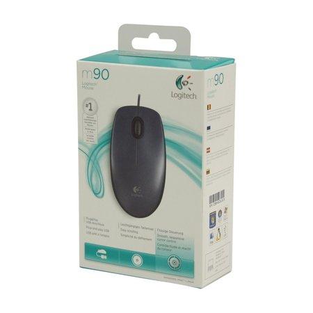 Logitech Ret. Mouse M90 Optical USB