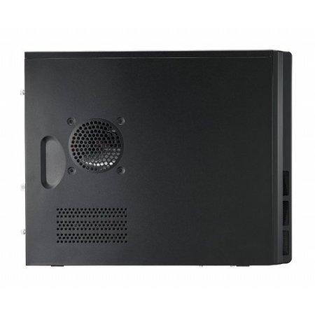 Case  Elite 342 mATX / Black / no Psu