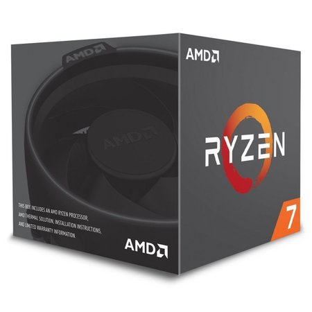 AMD CPU  Ryzen 7 2700x / 8core / AM4 / 3.7GHz-4.3GHz/ Boxed