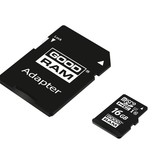 Micro SD + Adapter 16GB Class10 UHS I