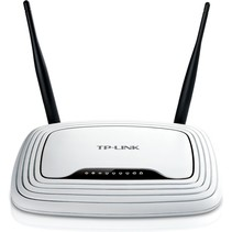 TP-LINK TL-WR841N draadloze router Single-band (2.4 GHz) Fast Ethernet Zwart, Wit