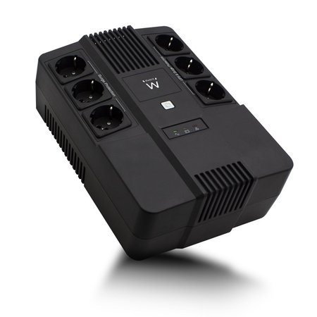 UPS 600VA Line Interactive with AVR, 6 x CEE7/3 port (refurbished)