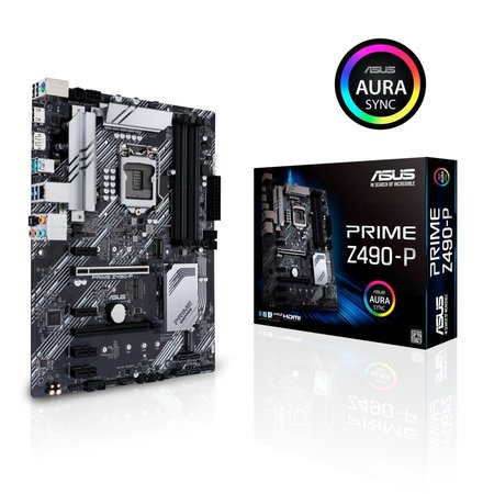 Asus MB ASUS PRIME Z490-P LGA 1200 ATX Intel Z490