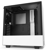 Case  H510i Zwart Wit / Glass window