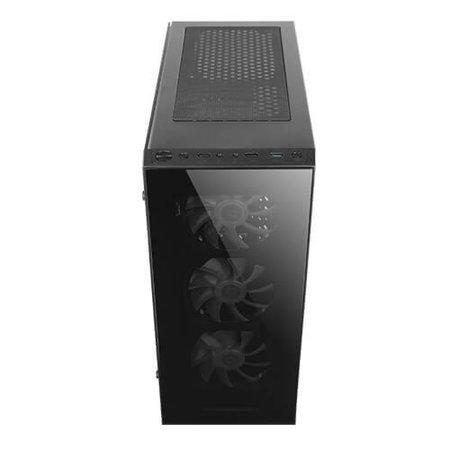 Case  NX210 Midi-Toren Zwart / ATX / ITX / Micro ATX