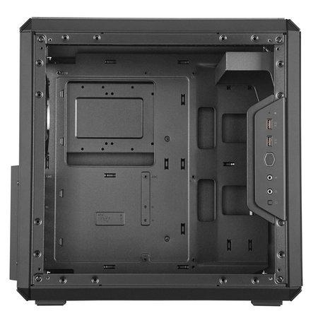 Case  MasterBox Q500L MidiTower Black mATX / OUT (refurbished)