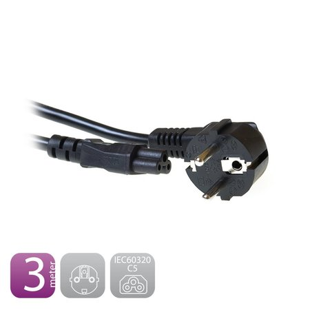 230V Connection Cable Schuko male (angled) - C5 3.0 M