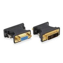 EW9850 kabeladapter/verloopstukje DVI-A VGA Blauw