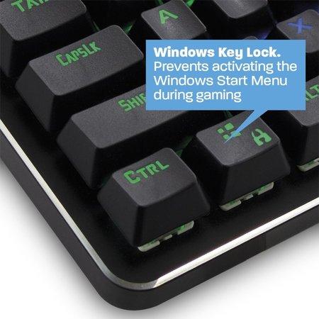 Play Gaming Mechanical RGB Keyboard US layout