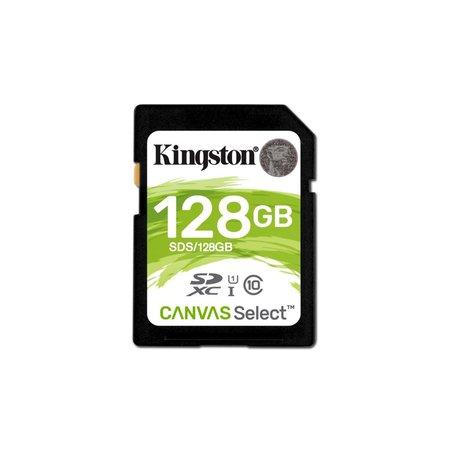 Kingston SDCARD  Canvas Select SD Class10 128GB