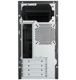 Case Cooler Master MasterBox E300L Mini Tower Zwart, Rood