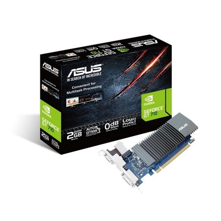 Asus VGA ASUS GT710-SL-2GD5 NVIDIA GeForce GT 710 2 GB GDDR5 (refurbished)