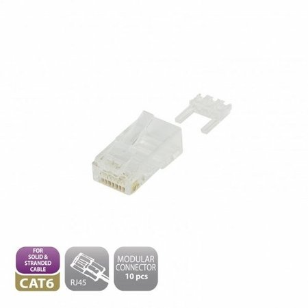 Modular CAT6 Connector RJ45 (10 pieces)
