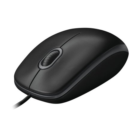 Logitech OEM Optical Mouse B100 Black (refurbished)