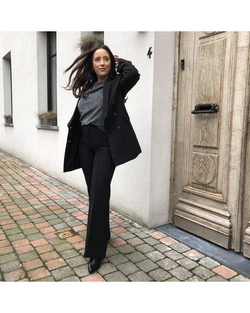 Oversized blazer black