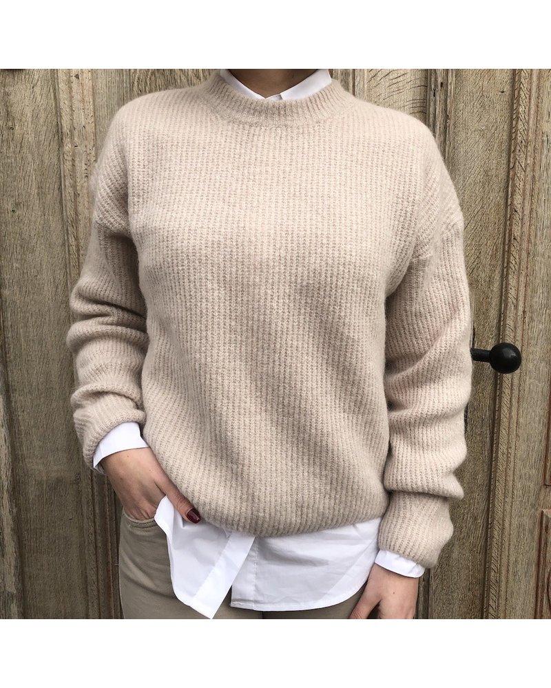 Losse knit beige TU