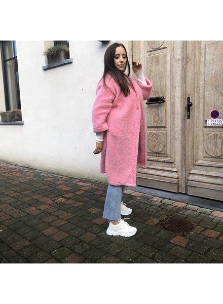 Teddy jacket pink TU