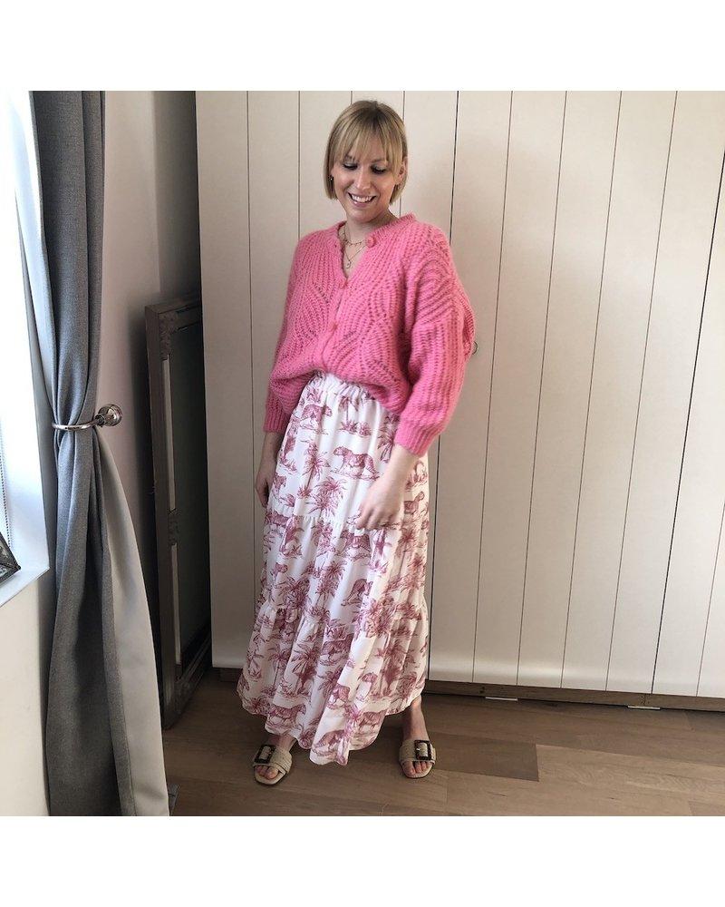 Pink tiger skirt
