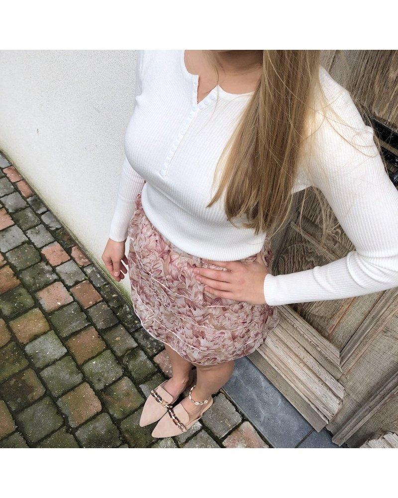Skirt pastel flower